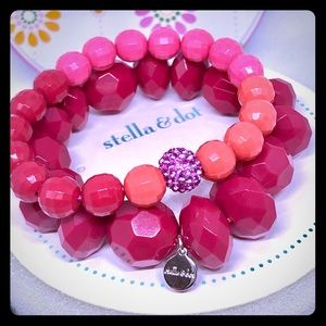 Little Girl's Poppy Bracelet Set By Stella & Dot